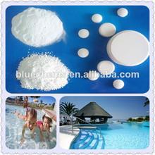 Productos químicos de la piscina, de purificación de agua productos químicos sdic 60%