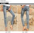 el último diseño al por mayor a granel para los pantalones vaqueros de las mujeres