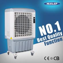 6500 m3/h soporte de metal del refrigerador de aire 55l tanque de agua