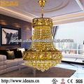 Zhongshan iluminación cristalina chandelir