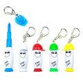 Porte clés personnalisés 3 en 1 stylos publicitaires personnalisés multifonctions