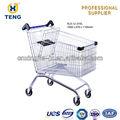 Europa kl0-u-210l de metal de estilo de supermercado carritos de la compra para la venta