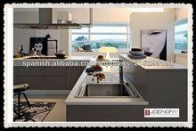 Joenony nuevos gabinetes de cocina modulares del gabinete de cocina blanco