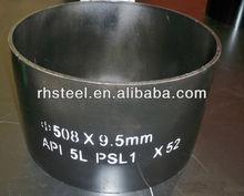 La venta caliente!!! Api 5l grado b sin soldadura de tubos de acero/base de la tubería