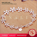Exquisito hecho a mano protección cobre del medio ambiente venta al por mayor de joyería de plata H156