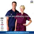 Hospital uniforme, médico ropa, baratos uniforme de fábrica, el mejor precio 2014