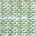 Projeto popular efeito 3D prata branco cristal vidro de mosaico de pedra HZH003AG banheiro, cozinha telha da parede