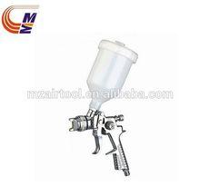 Pistola de pulverización hvlp h881p profesional 1.4mm 20oz de la boquilla de alimentación por gravedad alimentados
