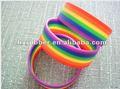 el más reciente del arco iris pulsera de silicona