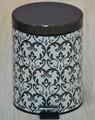 hotel barato de residuos de metal cesta de basura