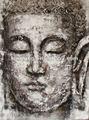 Pintura al óleo hecha a mano de Buddha para la decoración 2012