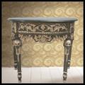 de estilo francés de oro adornado de la pared de la mesa de la consola antiguos hall de entrada de la consola de mesa