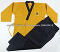 Artes marciales uniformes poomsae taekwondo para cinturones negros