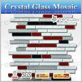 hermoso mosaico de vidrio de cuarto de baño antideslizante baldosa