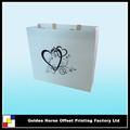 bolsa de regalo de boda de papel
