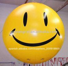 de dibujos animados del globo inflable