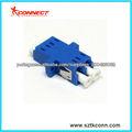 lc duplex adaptador de fibra óptica