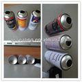 4 cor cmyk impressão de latas de tinta vazias