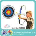chico de plástico de la caza de tiro con arco arcos y flechas