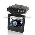 Leds 6 2.5 real tft de alta definición 720p vehículo coche dvr grabadora de
