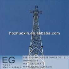 de telecomunicaciones de acero galvanizado en caliente de acero de la torre