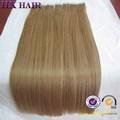 Alta calidad del pelo humano extensiones de cabello para el cabello cintas ruso