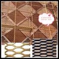 materiales de construcción de metal Malla metálica expandida muro cortina