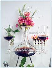 Caliente de diseño de cristal transparente de gran capacidad rojo/blanco vino cáliz vasos 640ml/22oz(fábrica de vidrio)