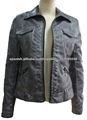2013 nuevo disenador chaqueta de las mujeres de cuero atractivo