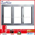 nuevo diseño de aluminio puerta plegable bi venta caliente para el sur de áfrica