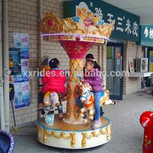 Paseos en xinxing fábrica----- parque juguete de atracciones carrusel de caballos