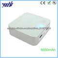 Venta caliente 6600mAh cargador externo universal de para iphone