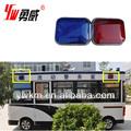 rojo y azul de ambulancias de emergencia luz