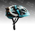 bicicleta de montaña de casco