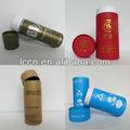 El logotipo personalizado de impresión ronda de envases de cartón de regalo de papel del tubo/caja