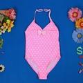 2014 de color rosa con bowknot lindo y los niños sexy traje de baño girls'/traje de baño chica joven modelos de trajes de baño