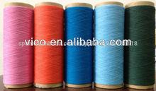 Reciclado/regenerada hilados de algodón para tejer guantes y calcetines