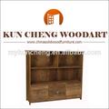 Arce de madera sólida del gabinete de la cocina/fácil baratos grandes armarios de la cocina