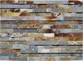 15x60cm baldosas de piedra de pizarra oxidada