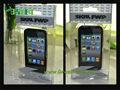 PET πλαστικά Folding Box για το iPhone 5/S4 υπόθεση με εκτύπωση Μεταξοτυπία