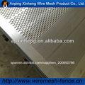 Galvanizado eléctrico de perforación de malla perforada panel( fábrica)