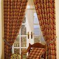 as cortinas da porta