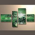caliente venta de hechos a mano paisaje pintura al óleo