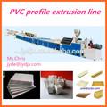janela de upvc perfil de linha de produção