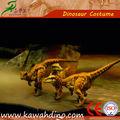 Fantoche de mão do dinossauro feito pelo fornecedor de dinossauro