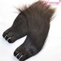 homeage toque de seda cabello lacio agujas de tejer