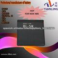 Bl-5k de batería para Nokia N85 N86 1200mah batería