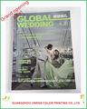 de la boda de la empresa de publicidad de la revista de impresión