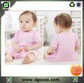 Bebê recém-nascido roupas de algodão de alta qualidade natural macia bebê meninas roupa conjunto boutique