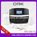 Inalámbrico& con conexión de cable para el hogar de alarma manual inteligente sistema de alarma para el hogar